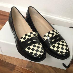 Brand New Aldo checker board loafers size 7.5